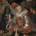 Frans Hals – Merrymakers at Shrovetide, Metropolitan Museum: part 2