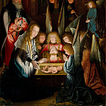 Metropolitan Museum: part 2 - Follower of Jan Joest of Kalkar - The Adoration of the Christ Child