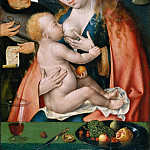 Joos van Cleve – The Holy Family, Metropolitan Museum: part 2
