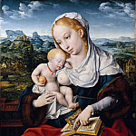 Joos van Cleve and a collaborator – Virgin and Child, Metropolitan Museum: part 2