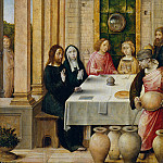 Juan de Flandes – The Marriage Feast at Cana, Metropolitan Museum: part 2