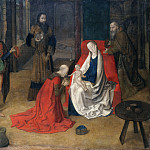 Metropolitan Museum: part 2 - Justus of Ghent (Netherlandish, active by 1460–died ca. 1480) - The Adoration of the Magi