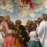 Hans Suess von Kulmbach – The Ascension of Christ, Metropolitan Museum: part 2