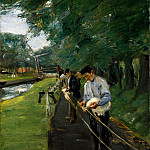 Max Liebermann – The Ropewalk in Edam, Metropolitan Museum: part 2