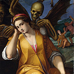 Metropolitan Museum: part 2 - Jacopo Ligozzi - Allegory of Avarice