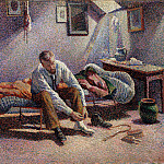 Metropolitan Museum: part 2 - Maximilien Luce - Morning, Interior