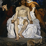 Édouard Manet – The Dead Christ with Angels, Metropolitan Museum: part 2