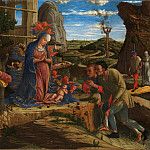 Andrea Mantegna – The Adoration of the Shepherds, Metropolitan Museum: part 2