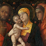 The Holy Family with Saint Mary Magdalen, Andrea Mantegna