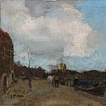 Metropolitan Museum: part 2 - Jacob Maris - Canal Side