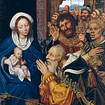 Metropolitan Museum: part 2 - Quentin Massys (Netherlandish, Leuven 1465/66–1530 Kiel, near Antwerp) - The Adoration of the Magi