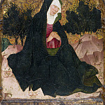 Spanish Painter, second quarter 15th century – The Virgin, Metropolitan Museum: part 2