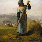 Metropolitan Museum: part 2 - Jean-François Millet - Woman with a Rake