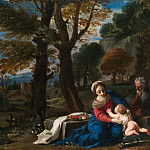 Metropolitan Museum: part 2 - Pier Francesco Mola - The Rest on the Flight into Egypt