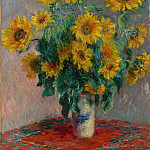 Metropolitan Museum: part 2 - Claude Monet - Bouquet of Sunflowers