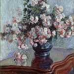 Claude Monet – Chrysanthemums, Metropolitan Museum: part 2