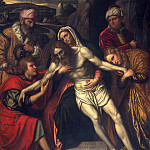 Moretto da Brescia – The Entombment, Metropolitan Museum: part 2