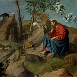 Metropolitan Museum: part 2 - Moretto da Brescia (Italian, Brescia ca. 1498–1554 Brescia) - Christ in the Wilderness