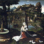 Metropolitan Museum: part 2 - Attributed to the Master of the Female Half-Lengths and a collaborator - The Rest on the Flight into Egypt