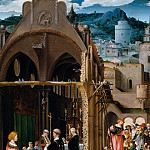 Netherlandish Painter, about 1520-25 – A Sermon on Charity , Metropolitan Museum: part 2