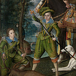 Robert Peake the Elder – Henry Frederick , Prince of Wales, with Sir John Harington , in the Hunting Field, Metropolitan Museum: part 2