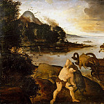 Piero di Cosimo – The Return from the Hunt, Metropolitan Museum: part 2