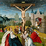 Metropolitan Museum: part 2 - Attributed to Jan Provost - The Crucifixion