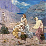 Pierre Puvis de Chavannes – The Shepherd's Song, Metropolitan Museum: part 2