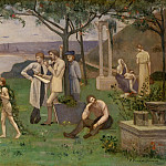Metropolitan Museum: part 2 - Pierre Puvis de Chavannes - Inter artes et naturam (Between Art and Nature)