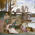 Pierre Puvis de Chavannes – The River, Metropolitan Museum: part 2