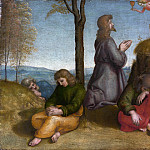Raphael – The Agony in the Garden, Metropolitan Museum: part 2