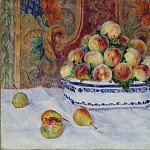 Auguste Renoir – Still Life with Peaches, Metropolitan Museum: part 2