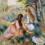 Auguste Renoir – In the Meadow, Metropolitan Museum: part 2