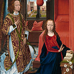The Annunciation, Hans Memling
