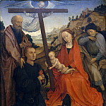 Style of Rogier van der Weyden – The Holy Family with Saint Paul and a Donor, Metropolitan Museum: part 2