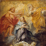 Peter Paul Rubens – The Coronation of the Virgin, Metropolitan Museum: part 2