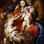 Metropolitan Museum: part 2 - Peter Paul Rubens - The Holy Family with Saint Elizabeth, Saint John, and a Dove