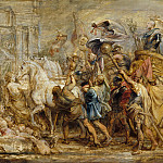 Metropolitan Museum: part 2 - Peter Paul Rubens - The Triumph of Henry IV