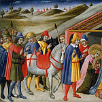 Metropolitan Museum: part 2 - Sano di Pietro (Italian, Siena 1405–1481 Siena) - The Adoration of the Magi