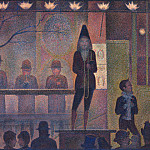 Circus Sideshow, Georges Seurat