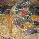 The Bath, Jávea, Joaquin Sorolla
