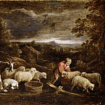 Shepherds and Sheep, David II Teniers