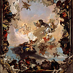 Giovanni Battista Tiepolo – Allegory of the Planets and Continents, Metropolitan Museum: part 2