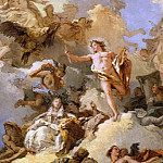 The Apotheosis of the Spanish Monarchy, Giovanni Domenico Tiepolo
