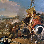 The Capture of Carthage, Giovanni Domenico Tiepolo