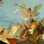 Giovanni Battista Tiepolo – The Glorification of the Barbaro Family, Metropolitan Museum: part 2