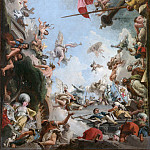 Metropolitan Museum: part 2 - Giovanni Domenico Tiepolo - The Glorification of the Giustiniani Family