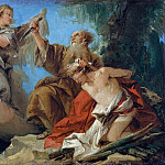 Giovanni Domenico Tiepolo – The Sacrifice of Isaac, Metropolitan Museum: part 2
