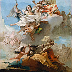 Virtue and Nobility, Giovanni Battista Tiepolo