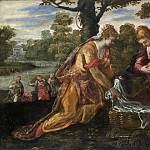 Jacopo Tintoretto – The Finding of Moses, Metropolitan Museum: part 2